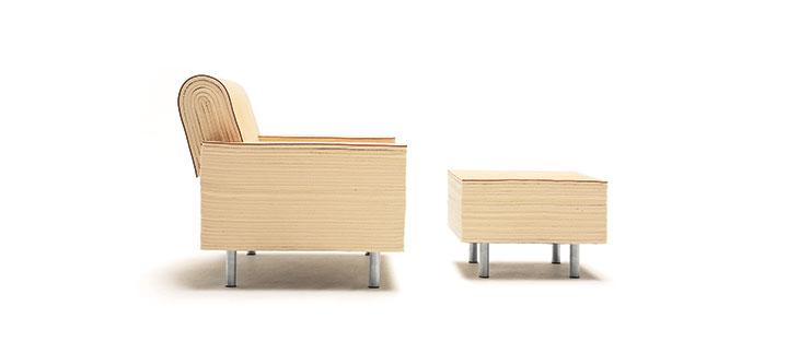 Felt_Chair-ottoman-white-side